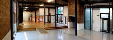 Event space at Paintworks